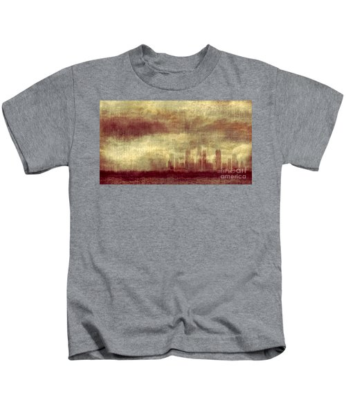 Someone To Hold You Beneath Darkened Sky Kids T-Shirt