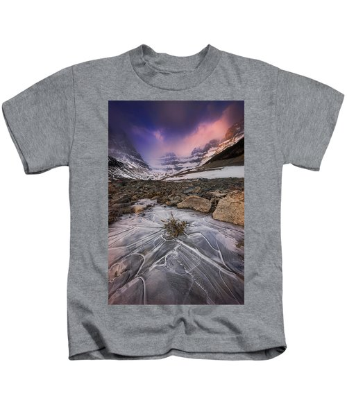 Somewhere In The Canadian Rockies Kids T-Shirt