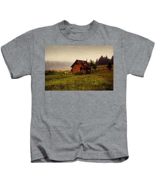 Somewhere In The Countryside. Russia Kids T-Shirt