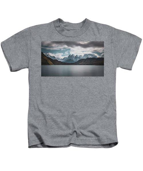 Somewhere Over The Mountain Range Kids T-Shirt