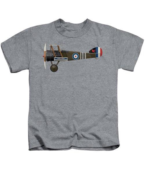 Sopwith Camel - B6313 June 1918 - Side Profile View Kids T-Shirt