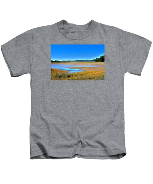 South Carolina Lowcountry H D R Kids T-Shirt