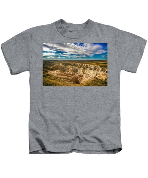 South Dakota Bad Lands.... Kids T-Shirt
