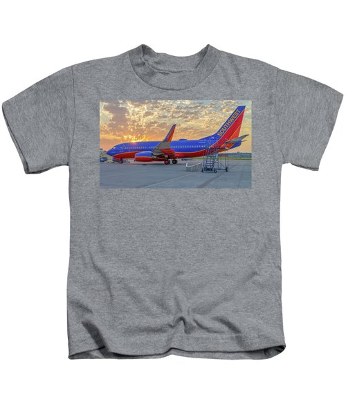 Southwest Airlines - The Winning Spirit Kids T-Shirt