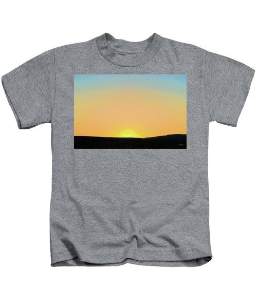Southwestern Sunset Kids T-Shirt
