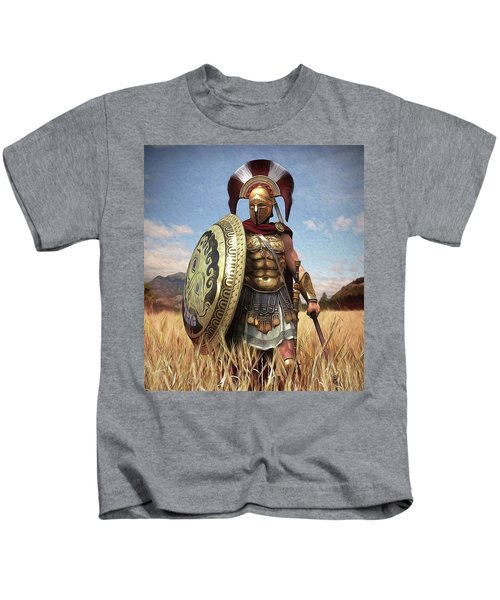 Spartan Hoplite - 02 Kids T-Shirt