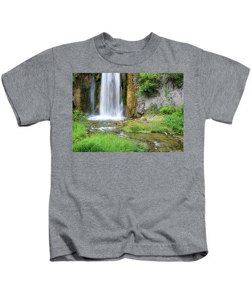Spearfish Falls Kids T-Shirt