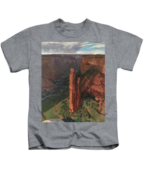 Spider Rock, Canyon De Chelly Kids T-Shirt