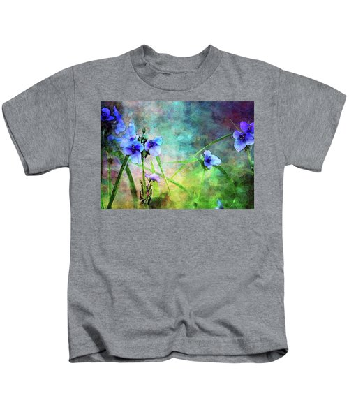 Spiderwort Dance 0115 Idp_2 Kids T-Shirt