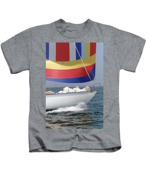 Spinnaker Run Kids T-Shirt