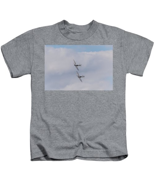 Spitfire Formation Pair Kids T-Shirt