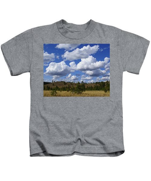 Spokane Cloudscape Kids T-Shirt
