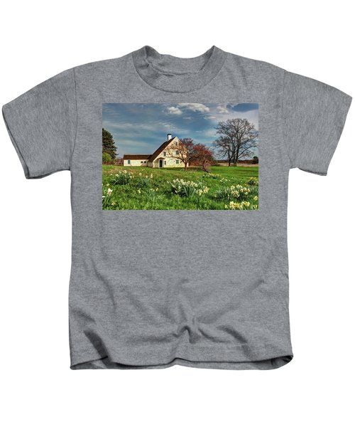 Spring At The Paine House Kids T-Shirt