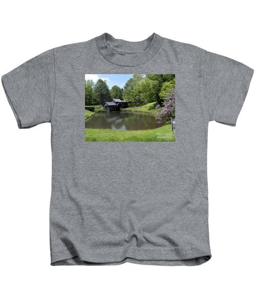 Spring Comes To Mabry Mill Kids T-Shirt