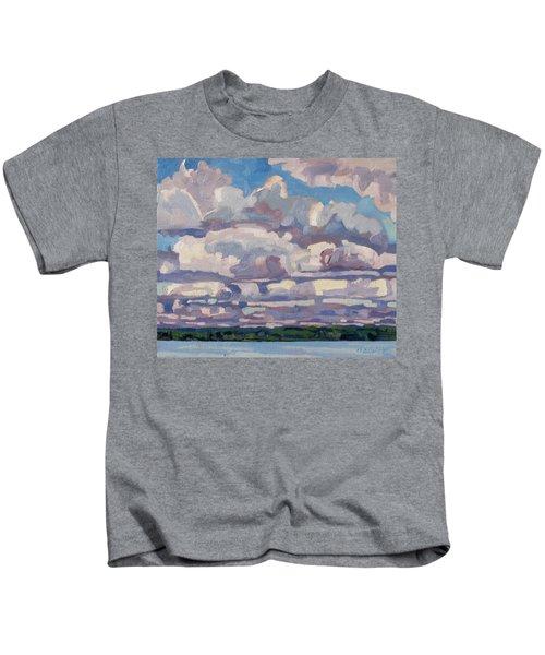 Spring Cumulus Kids T-Shirt