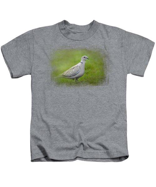 Spring Dove Kids T-Shirt by Jai Johnson
