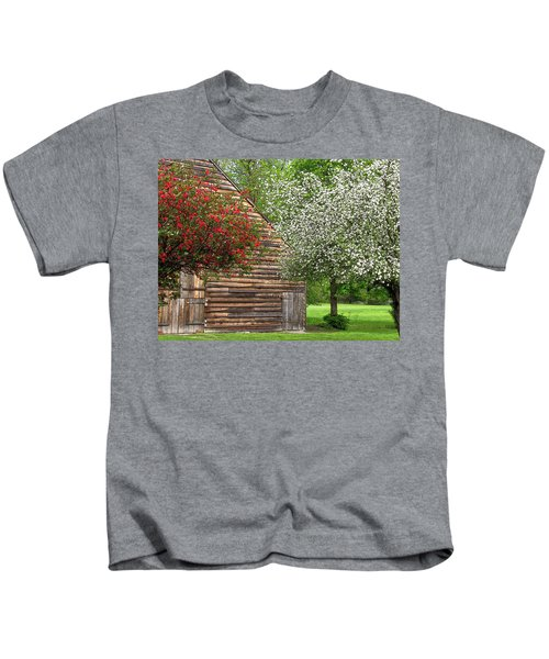 Spring Flowers And The Barn Kids T-Shirt