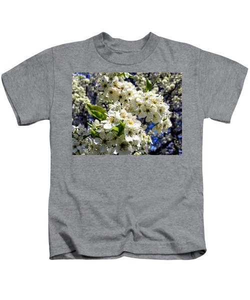 Kids T-Shirt featuring the photograph Spring Flowers by Chris Montcalmo