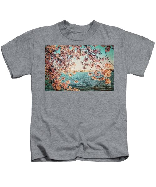 Spring In Dc Kids T-Shirt