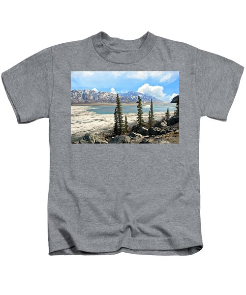 Spring In The Wrangell Mountains Kids T-Shirt