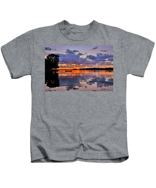 Spring Reflections Kids T-Shirt