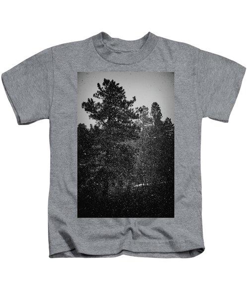 Spring Snowstorm Kids T-Shirt