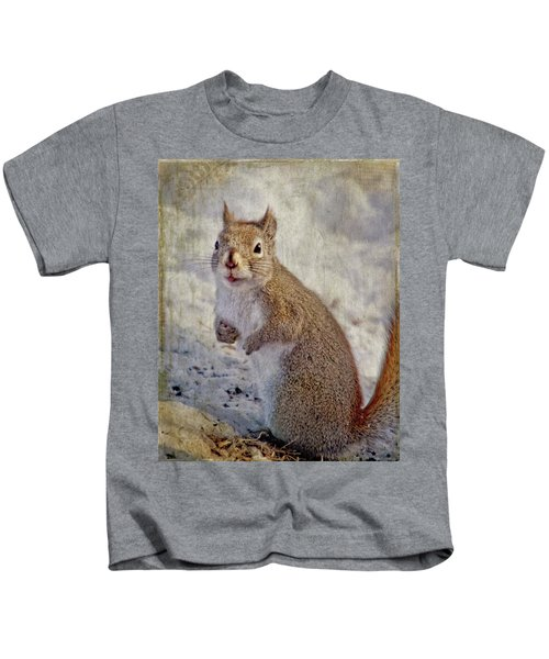 Spring Squirrel Kids T-Shirt