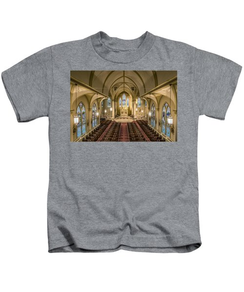 St. Francis Xavier Cathedral Kids T-Shirt
