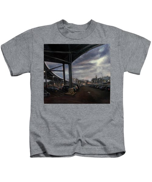 St. George From The Staten Island Ferry Terminal Kids T-Shirt