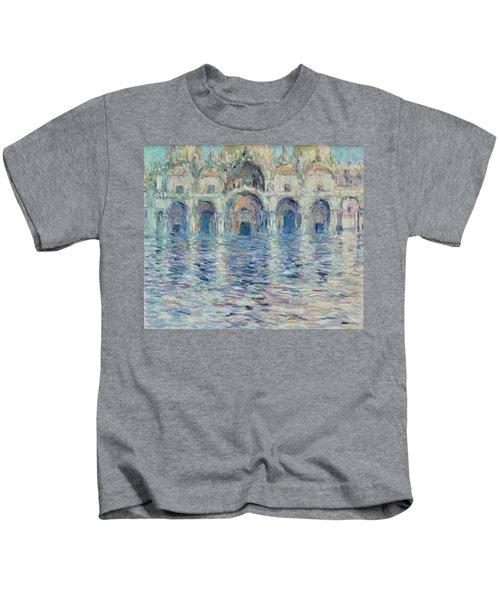 st-Marco square- Venice Kids T-Shirt