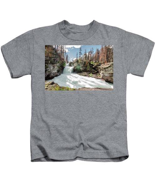 St. Mary Falls Kids T-Shirt