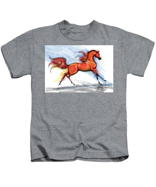 Staceys Arabian Horse Kids T-Shirt