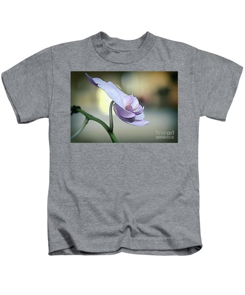 Standing Alone In Silence Kids T-Shirt
