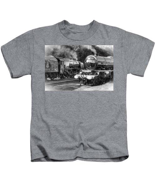 Stanier Pacifics At Swanwick Kids T-Shirt