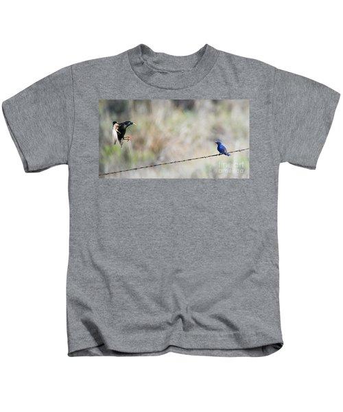 Starling Attack Kids T-Shirt
