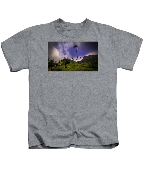 Stars In The Valley Kids T-Shirt