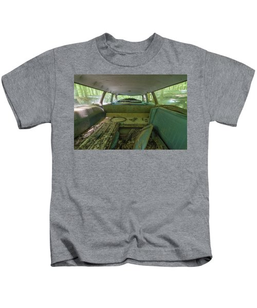 Station Wagon In Color Kids T-Shirt