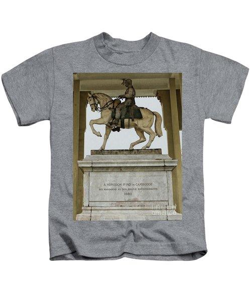 Statue Royal Palace  Kids T-Shirt