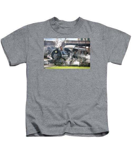 Steam Engine #30 Kids T-Shirt