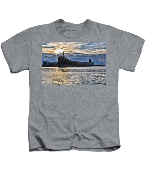 Steamship William G. Mather - 1 Kids T-Shirt