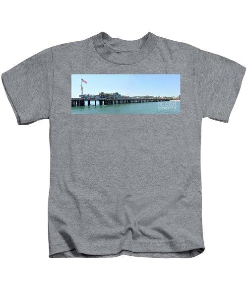 Stearns Wharf 2 Kids T-Shirt