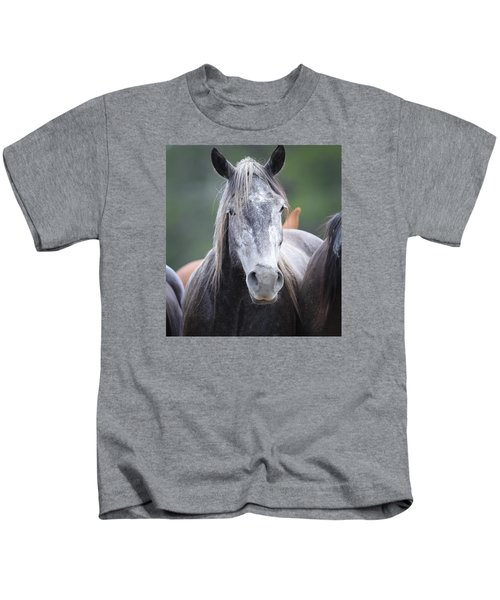Steel Grey Kids T-Shirt