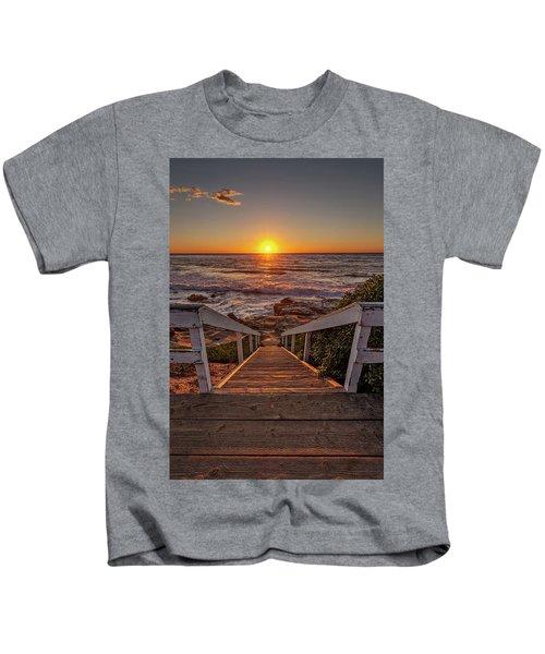 Steps To The Sun  Kids T-Shirt