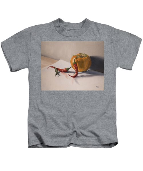 Still Life With Produce Kids T-Shirt
