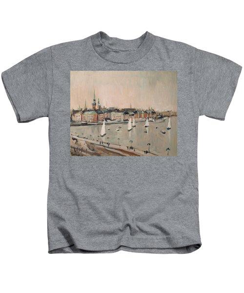 Stockholm Regatta Kids T-Shirt by Nop Briex