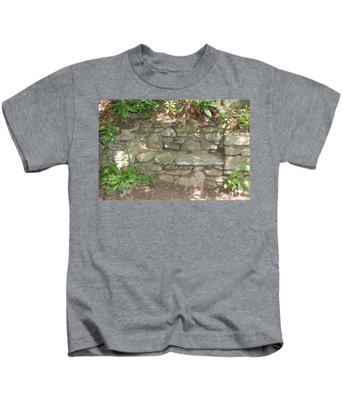 Stone Bench Kids T-Shirt