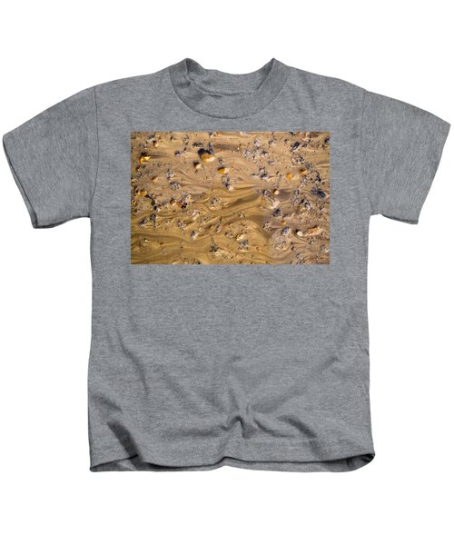 Stones In A Mud Water Wash Kids T-Shirt