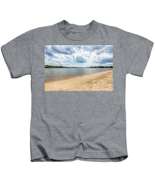 Sand, Sky And Water Kids T-Shirt