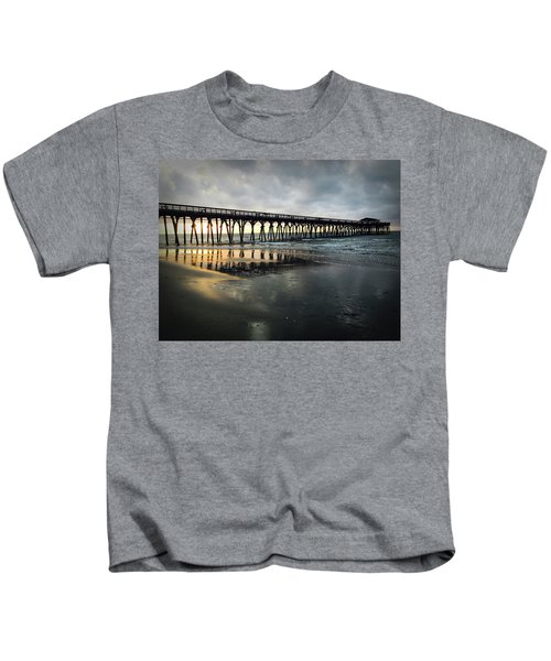 Storm At Sunrise In Color Kids T-Shirt