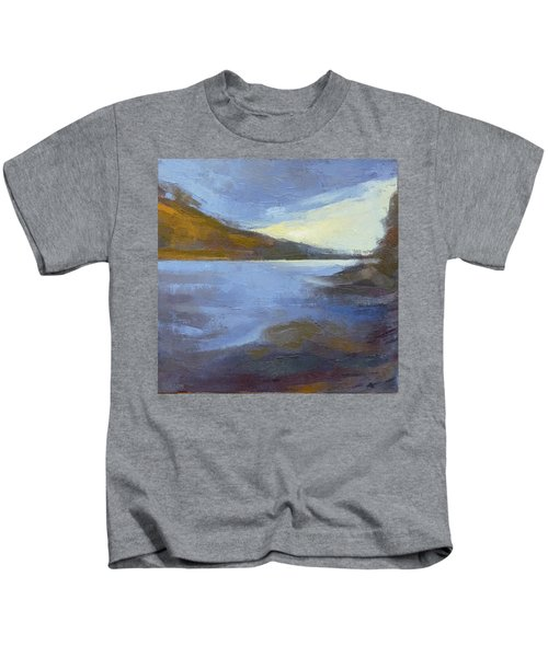 Storm Clouds Break Over The River Gorge Kids T-Shirt